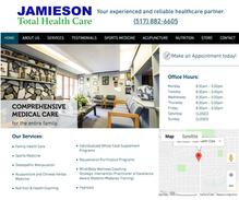 Jamieson Total Health Care Website