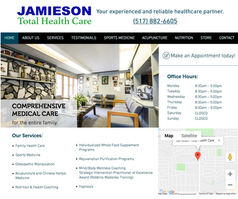 Jamieson Total Health Care Website