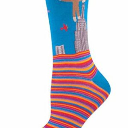SOCKSMITH KING KONG WOMEN'S CREW