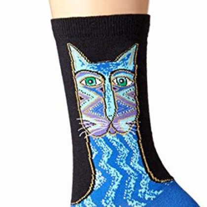 LAUREL BURCH SINGLE PACK CAT WOMEN'S CREW