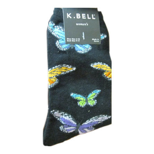 K. BELL BUTTERFLIES WOMEN'S CREW