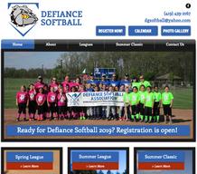 Defiance Softball