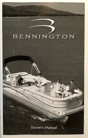 Bennington Marine Owners Manual