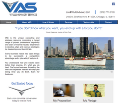 Vitullo Advisory Services Website