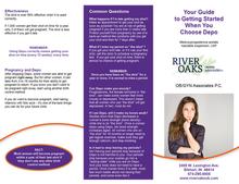 River Oaks OB/GYN Brochure