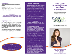 River Oaks OB/GYN Brochure