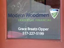 Grace Braatz Front Door Decal