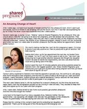 Shared Pregnancy Newsletter
