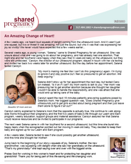 Shared Pregnancy Newsletter