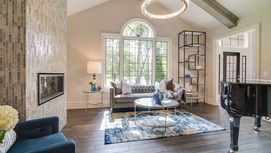 Living Room Remodel by EB Companies