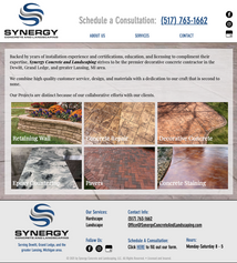 Synergy Concrete and Landscaping