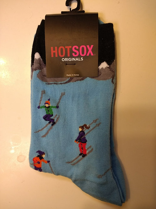 HOT SOX DOWNHILL SKIERS WOMEN'S CREW