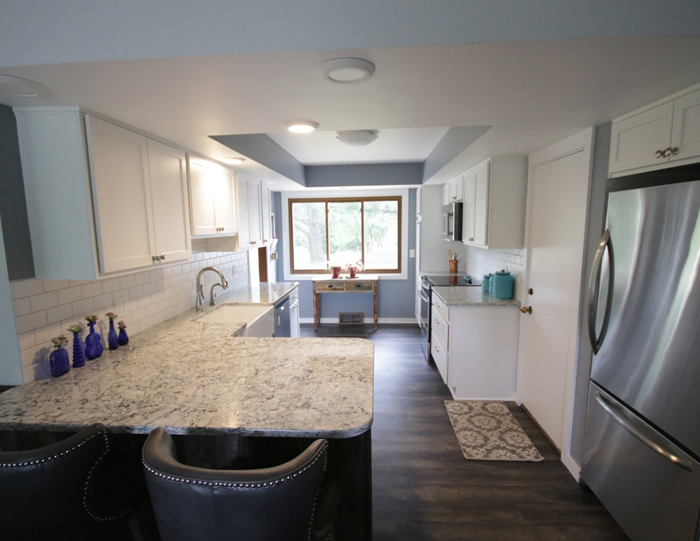 Kitchen Remodel by EB Companies