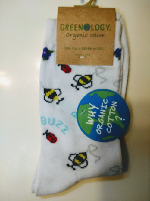 GREENOLOGY LADYBUGS AND BEES WOMEN'S CREW