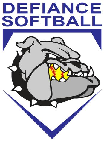Defiance Girls Softball Logo