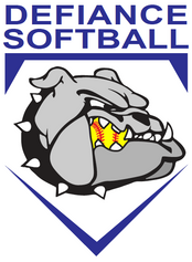 Defiance Girls Softball Logo