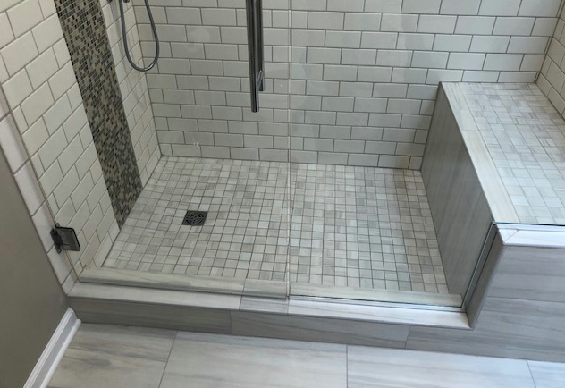 Shower Remodel by EB Companies