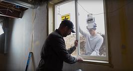 K&H Concrete Egress Window Sawing