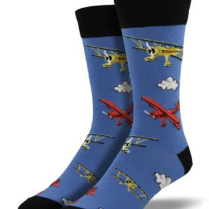 SOCKSMITH FLYING BI MEN'S CREW