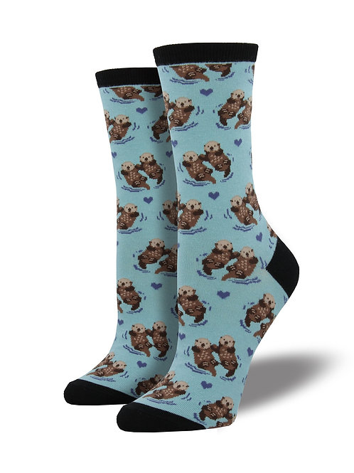 SOCKSMITH SIGNIFICANT OTTER WOMEN'S CREW