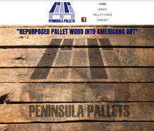 Peninsula Pallets Website