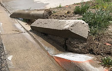 K and H Concrete Curb Cutting