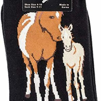 K. BELL MARE AND FOAL WOMEN'S  CREW