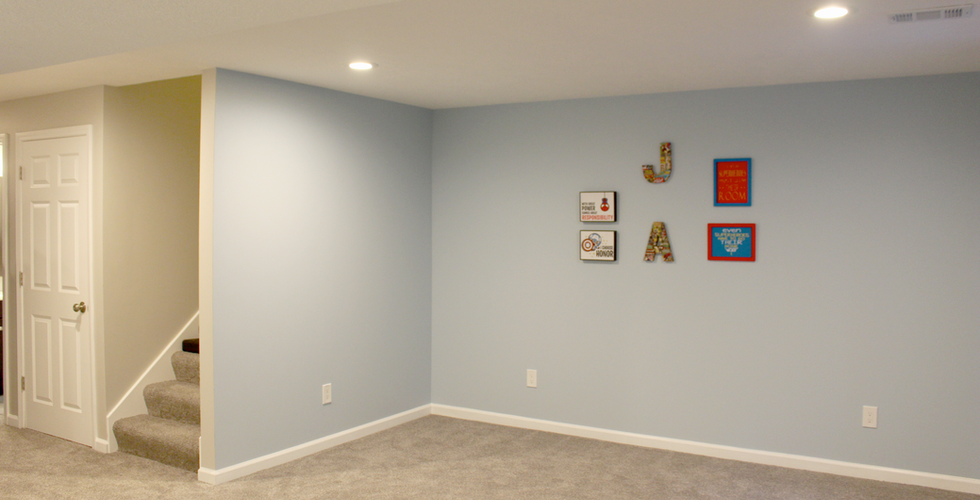 Basement Remodel by EB Companies