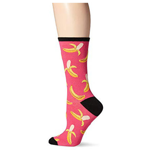 HOT SOX BANANAS WOMEN'S CREW