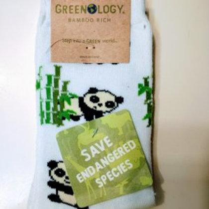 GREENOLOGY PANDA WOMEN'S CREW