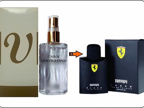 PERFUME CONTRATIPO FE6RRARI BLACK CC50 |0ML
