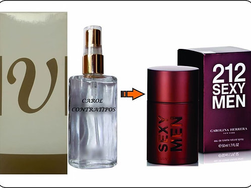PERFUME CONTRATIPO 212 SEXY MEN CC70 | 6ML