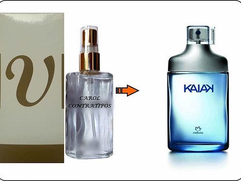 PERFUME CONTRATIPO KAIAK MASCULINO NATURA CC53 | 60ML