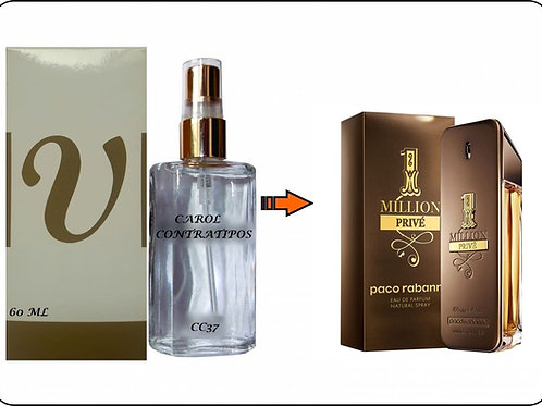 PERFUME CONTRATIPO ONE MILLION PRIVÉ CC 90 | 60ml