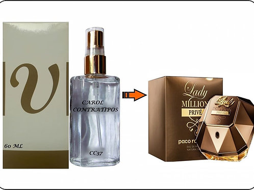 PERFUME CONTRATIPO LADY MILLION PRIVÉ CC 91 | 60ml