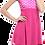 Thumbnail: Desenli Garnili Taytlı Elbise Mayo