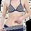 Thumbnail: Düz Kaplı Etekli Bikini