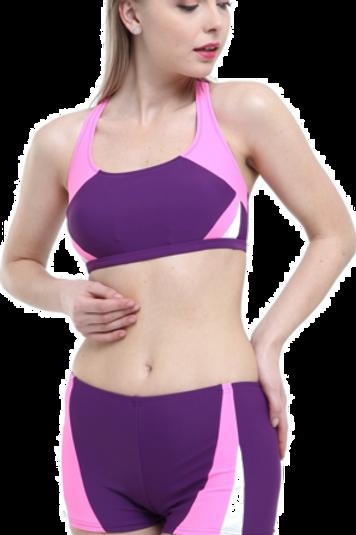 Yeni Parçalı Şortlu Yüzücü Bikini