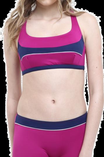 Modelli Desenli Badili Şortlu Bikini