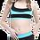 Thumbnail: Modelli Desenli Badili Şortlu Bikini