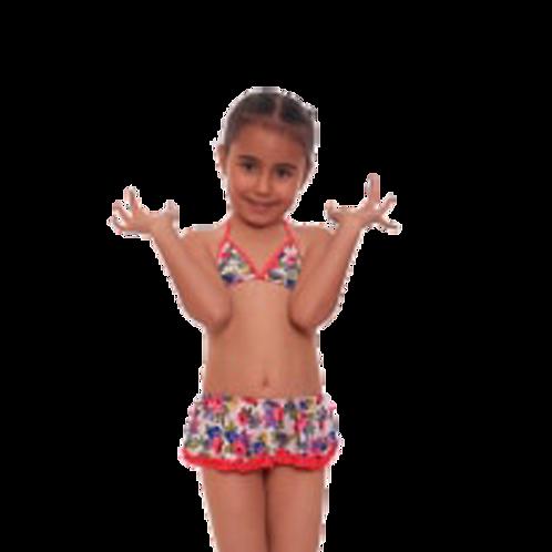 Kız Bikini Desenli