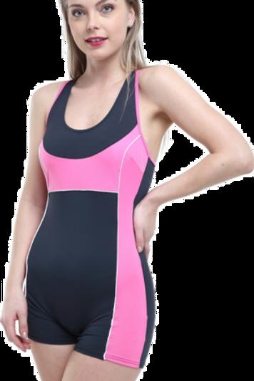 Modelli Şortlu Yüzücü Mayo