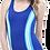 Thumbnail: Şeritli Modelli Yüzücü Mayo