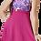 Thumbnail: Tokalı Elbiseli Desenli Garnili