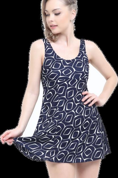 Desenli Elbise Mayo