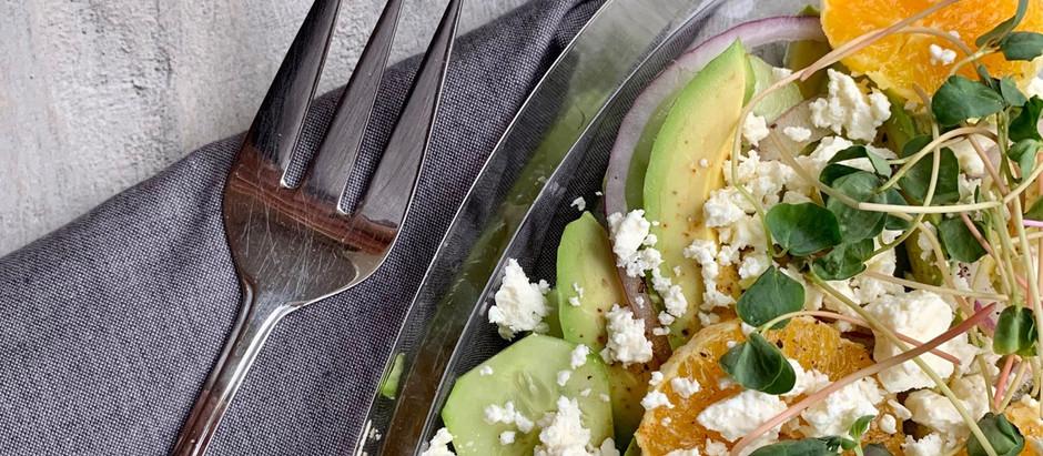 Salade d'avocat aux agrumes 🥑