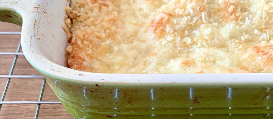 Squash Mac 'N cheese