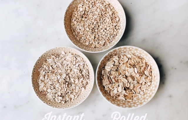 What type of oatmeal should we choose?