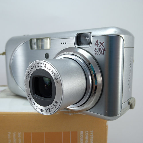 Digital Câmera Canon Powershot A430 4mp 4x Optical Zoom
