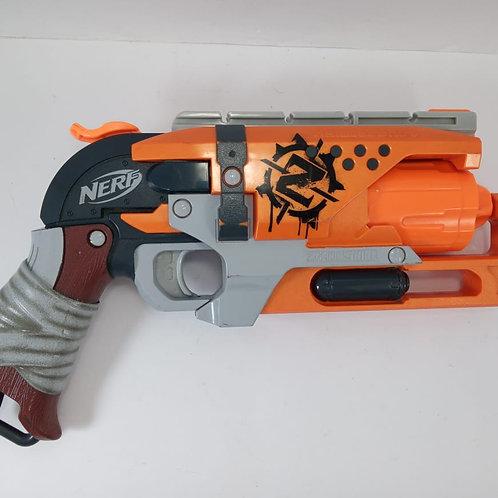 Nerf Zombie Strike Hammershot Lançador De Dardo Hasbro